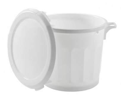 poubelle plastique 75 l materiel hygiene biralux. Black Bedroom Furniture Sets. Home Design Ideas