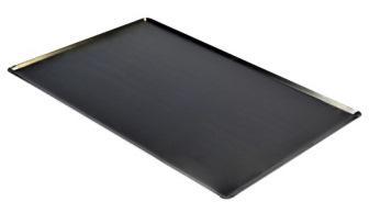 plaque en t le noire plaques inox aluminium et toles biralux. Black Bedroom Furniture Sets. Home Design Ideas
