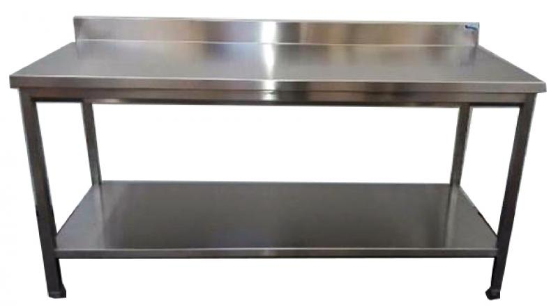 table-inox-adossee-etagere