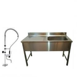 Conception de mobilier inox pour magasins alimentaires for Fourniture de cuisine professionnel