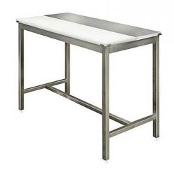 table-decoupe-mixte-inox-polyethylene